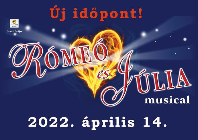 KÖZLEMÉNY a Rómeó és Júlia musical szervezőitől – ÚJ IDŐPONT!