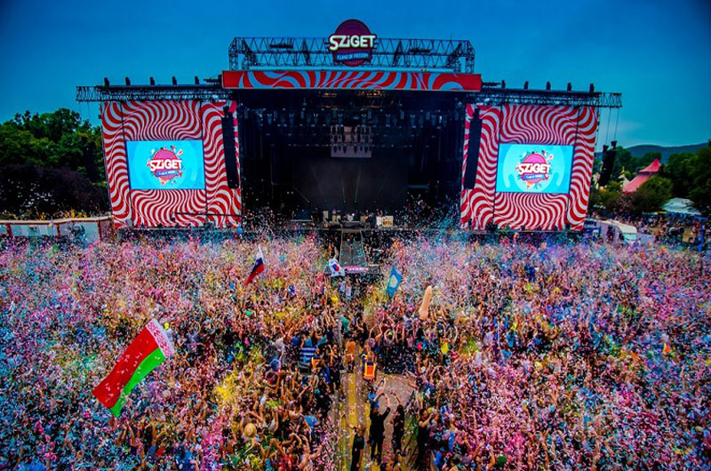 Sziget Fesztivál 2021 – Budapest Óbudai-sziget