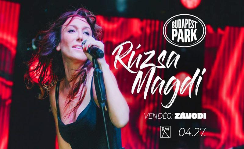 Rúzsa Magdi koncert – vendég: Zävodi – 2019. ÁPRILIS 27. – Budapest Park – LEZAJLOTT