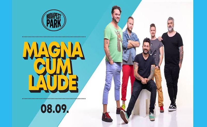 Magna Cum Laude koncert -2019. AUGUSZTUS 9. 18:00 – Budapest Park – LEZAJLOTT