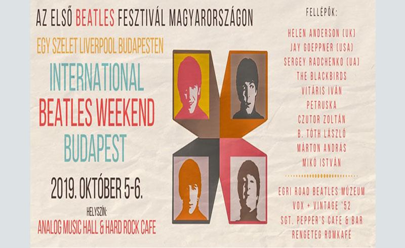 Beatles Weekend – 2019. OKTÓBER 5-6. – Analog Music Hall, Hard Rock Cafe