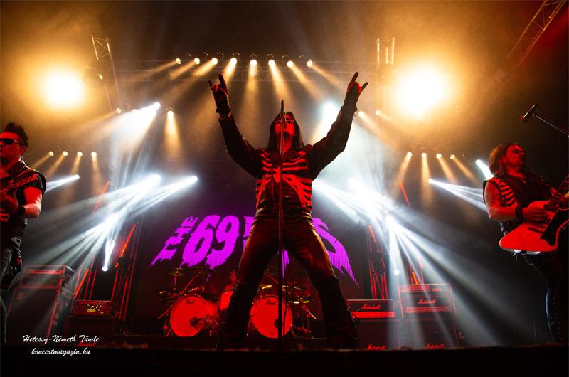 The 69 Eyes koncert Budapest – koncertfotók – 2019.11.12. Barba Negra Music club