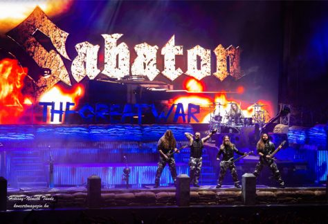 Sabaton koncert Budapest – The Great Tour 2020 – koncertfotók – 2020.01.22. Budapest Sportaréna