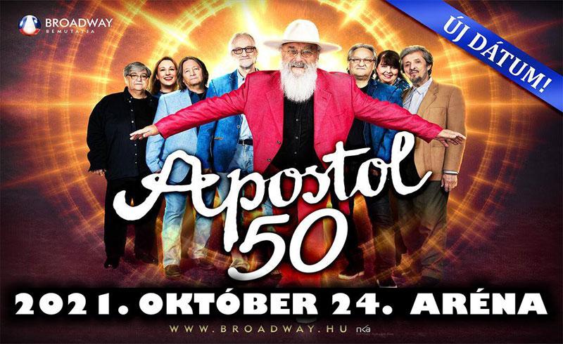 Újabb halasztásra kényszerül az Apostol együttes