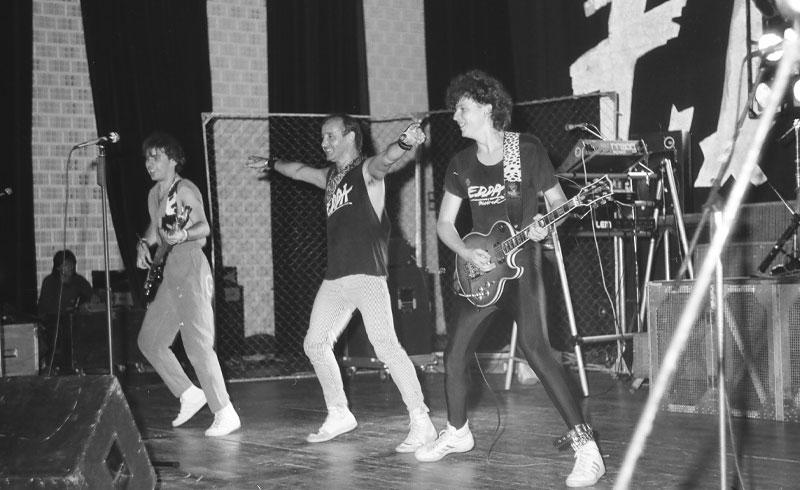 Retro – EDDA MŰVEK koncertfotók80-as évek – Tatabánya, A Közművelődés Háza