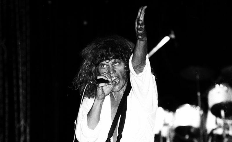 Régi csibészek – Omega koncertfotók a 80-as évekből – Tata, Szabadtéri Színpad