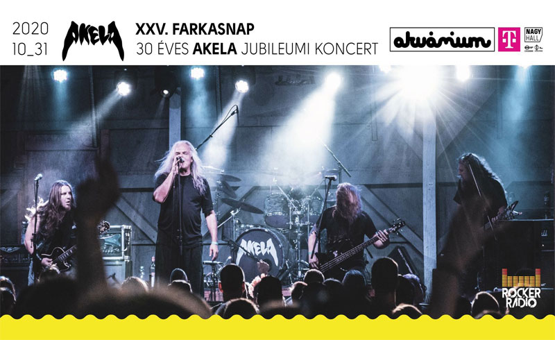 Farkasnapi koncertre hív a 30 éves Akela!