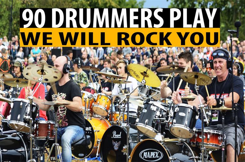 Queen We Will Rock You – 90 dobos előadásában