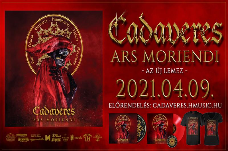 CADAVERES – Megjelent az új album, friss klipes dal: Impersonal Agency