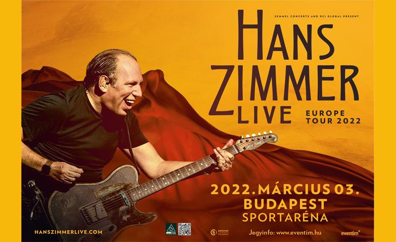 Jövőre Budapesten koncertezik Hans Zimmer