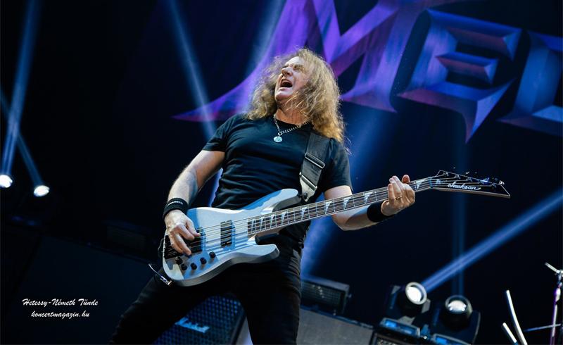 A Megadeth megvált David Ellefson basszusgitárostól