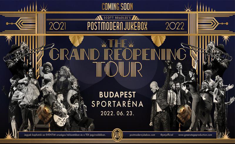 Budapest is bekerült a Scott Bradlee's Postmodern Jukebox világturné programjába