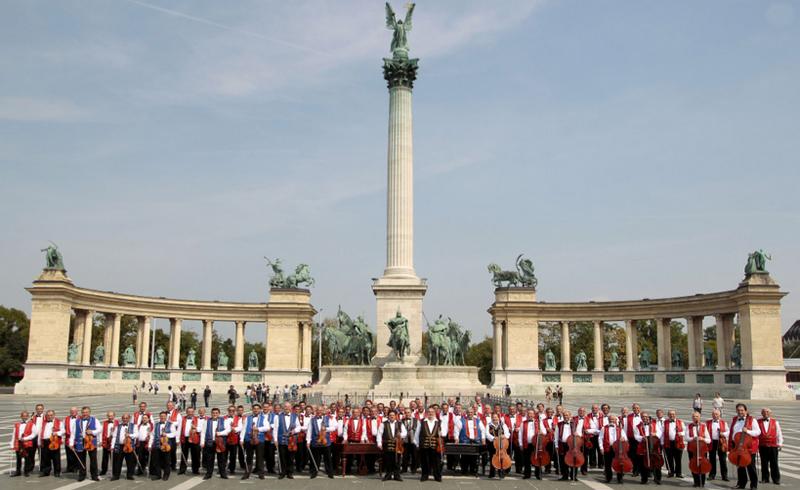 Vajdahunyadvári koncertsorozat – Budapest Bár, 100 Tagú Cigányzenekar, Sabbathsong Klezmer Band, Szent István Filharmonikusok