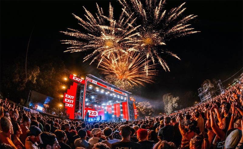 EXIT -180 ezer látogatóval véget ért az idei első európai nagyfesztivál
