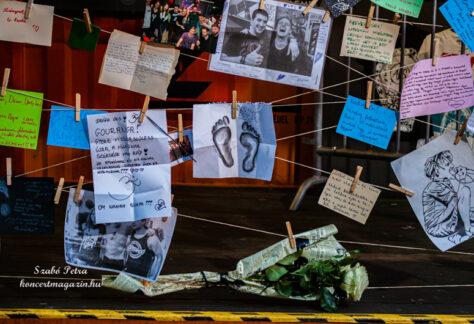 """Siklósi Örs EMLÉKFAL – AWS koncert """"Míg csillaggá nem lesz az életed"""" Emlékkoncert fotók – 2021.09.23. Budapest Park"""