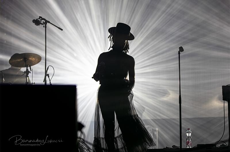 Morcheeba koncertfotók – 2021.09.10. Budapest Park