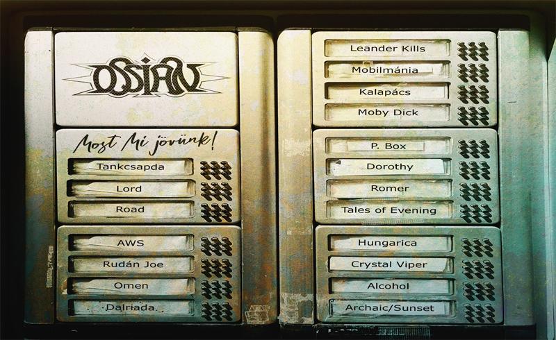 Ossian: Most mi jövünk címmel jön a feldolgozáslemez, itt vannak az első hét dalai!