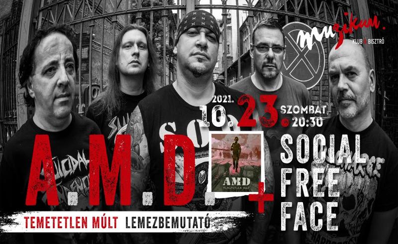 AMD – Megjelent a hardcore legenda új albuma, szombaton lemezbemutató koncert Budapesten!